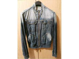 Giubbino jeans benetton tg xl + vari jeans tg 46 Invio
