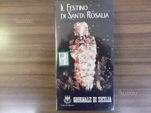 Il festino di Santa Rosalia in VHS