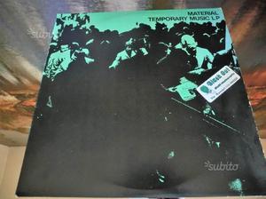 LP Vinile Vinyl Material Temporary Music LP