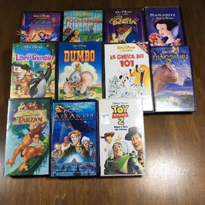 Lotto 15 VHS Walt Disney