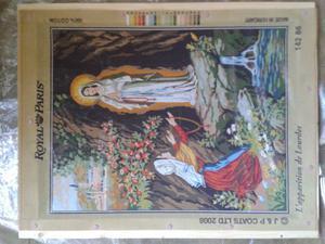 Mezzopunto nuovo Royal Paris Apparizione Madonna di Lourdes