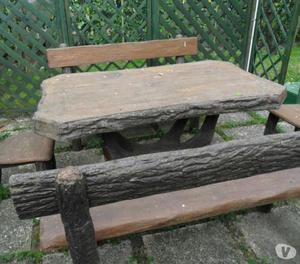 Tavoli Da Giardino In Cemento.Tavolo Da Esterno In Cemento Posot Class