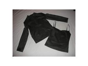 Top e giacca in lino Calvin Klein