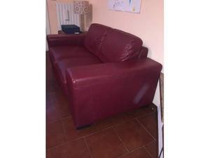 Vendo, causa trasferimento, due divani in pelle by Natuzzi