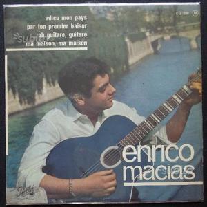 Vinile di Enrico Macias, 45 giri,  Pathè EG 59