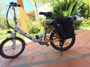 Bici elettrica genio pieghevole usata con posot class for Bici pieghevole elettrica usata