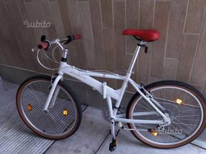 Bici Pininfarina Pieghevole Bianca.Citybike Pininfarina Pieghevole Imballata Posot Class