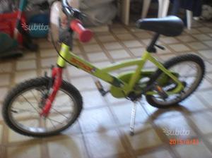 Bicicletta bimo/a 3 anni in su