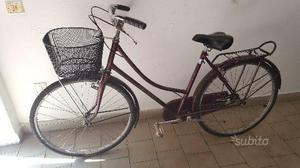 Bicicletta da donna Holland da 26 bordo con cesto