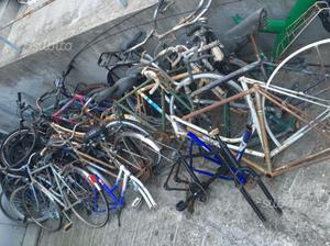 Biciclette in blocco