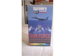 Cassetta vhs task force