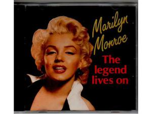 MARILYN MONROE cd the legend lives on NUOVO 1a Stampa 86