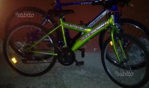 Mountain Bike 24 per bimbo