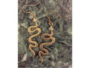Orecchini a forma di serpente