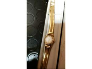 Orologio donna Eberhard vintage d'oro