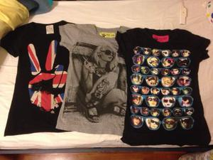 Stock 3 t-shirt camden london londra nuove