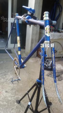 Telaio bici bianchi ghisallo bicicletta vintage