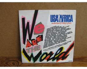 USA FOR AFRICA-We are the World- 45 giri vinile