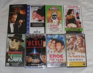 15 Film in cassette VHS visionati ma ben mantenuti