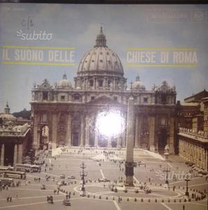 33 giri il suono delle chiese di roma