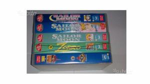 4 VHS Sailor Moon e non solo