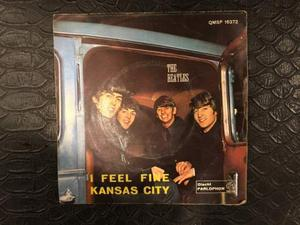 45 giri the beatles i feel fine