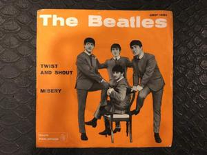 45 giri the beatles twist and shout