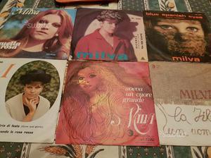 6 dischi 45 giri di Milva