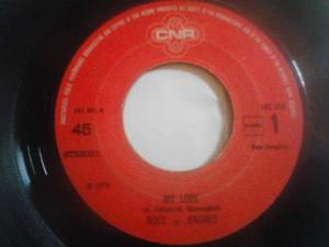 "7"" Rosy & Andres My Love - I Wanna Be Your Baby"