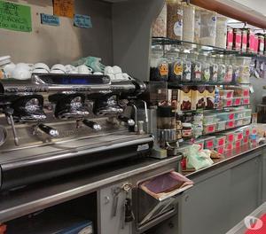Banco bar in inox per macchina del caff posot class for Arredamento bar completo