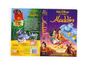 Aladdin - walt disney - vhs - usata