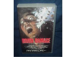 BRAIN DAMAGE film vhs videocassetta Panarecord ex nolo