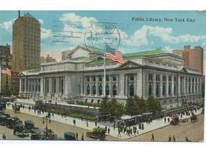 Cartolina New York del , a colori