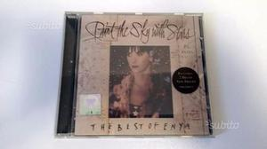 """Cd originale Enya the best of """"Paint the sky with"""