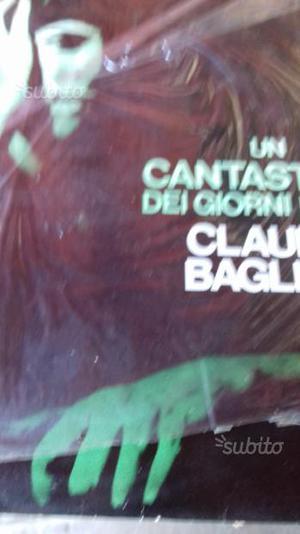 Disco Claudio Baglioni un cantastorie dei nostri g