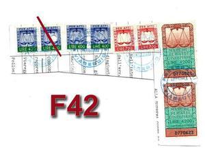 F42 - Lotto Marche da bollo atti L.