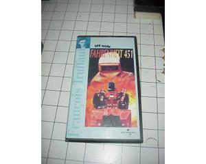 FARENEITH 451 vhs videocassetta film raro originale