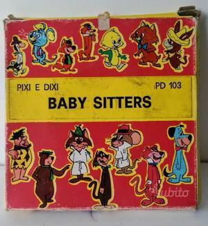 Film Pellicola Hanna Barbera Pixi Dixi Vintage