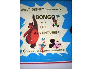 Film super 8 Bongo e i 3 Avventurieri