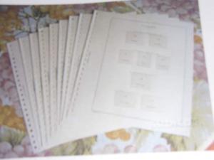 Fogli Marini King a 22 fori X francobolli Repubblica