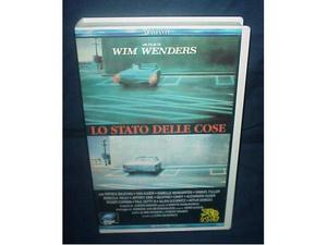LO STATO DELLE COSE wim wenders film ex nolo noleggio vhs