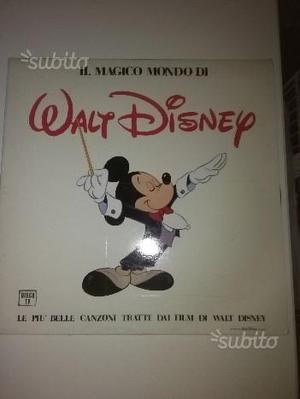 Lp - il magico mondo di walt disney