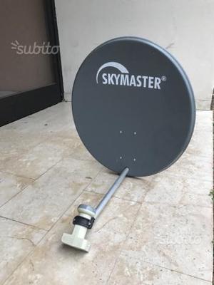 Parabola satellitare completa