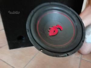 Subwoofer Dragster 600W + Amplificatore 600W
