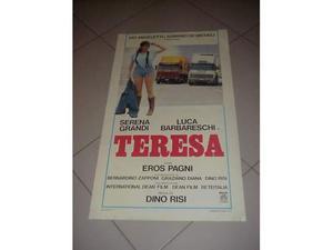 Teresa locandina manifesto del film collezionisti cinema