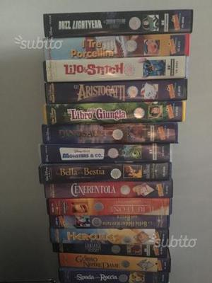 VHS Disney originali