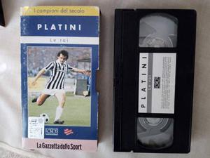 VHS Michel Platini originale Gazzetta dello Sport