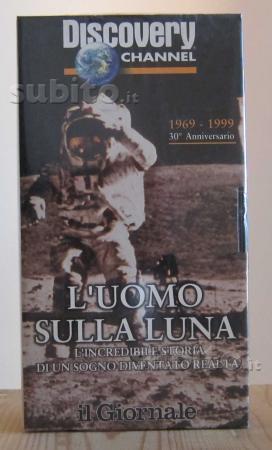 VHS documentario, Luomo sulla luna, Discovery