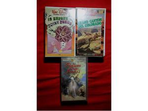VHS originali Disney