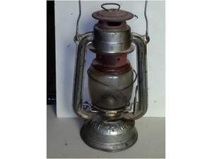 Vecchia lanterna militare tedesca BAT N. 158 - epoca